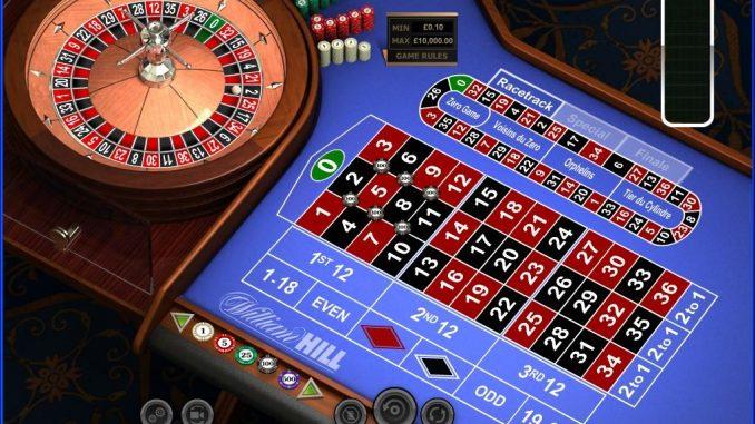 William Hill kazino rulet