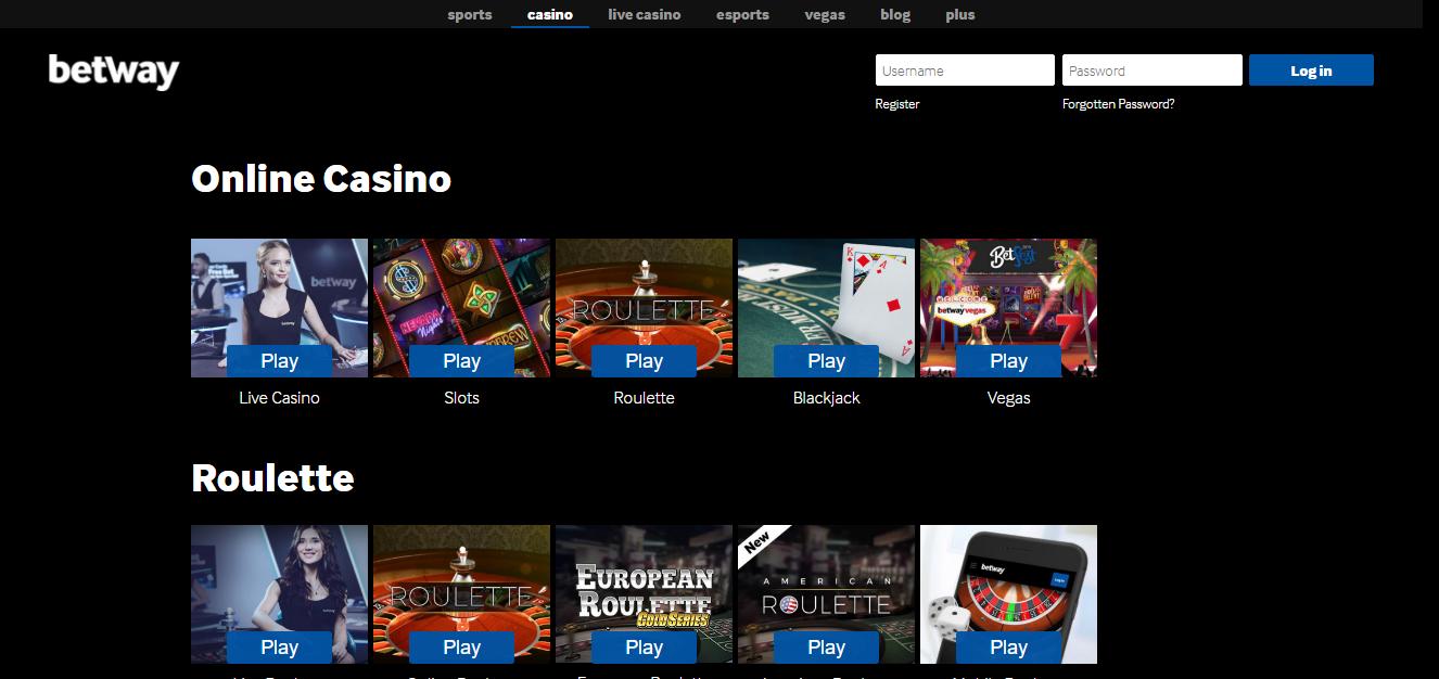 Betway kazino