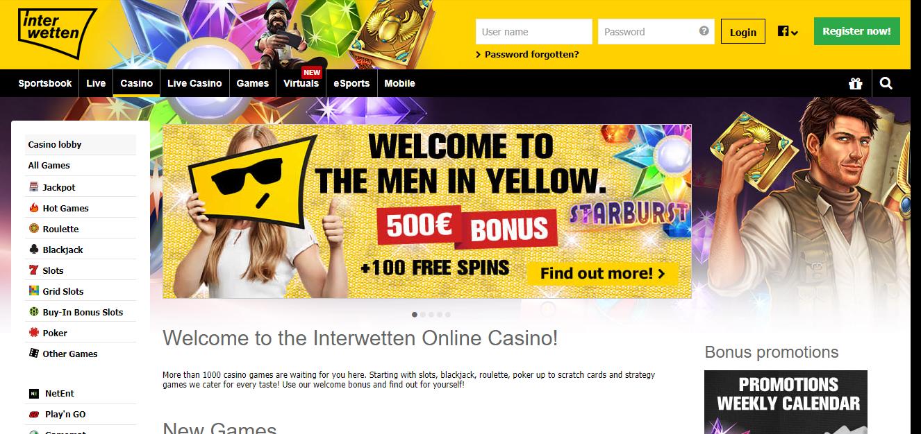 Interwetten kazino